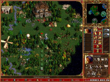 Карта Heroes of Might and Magic III