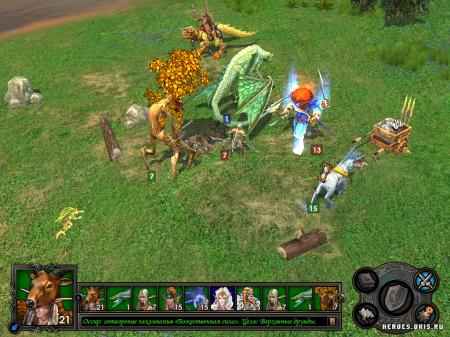 Бой Heroes of Might and Magic V