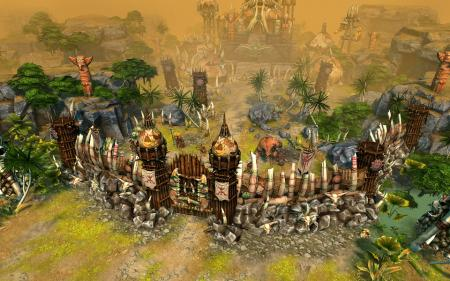 Варварский город Heroes of Might and Magic VI