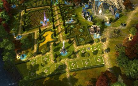 Зелёный сад Heroes of Might and Magic VI