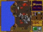 "Карта - вулканы ""Heroes of Might and Magic I"""